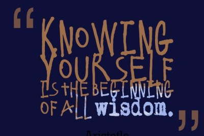 Posterhouzz Knowing Yourself Poster Fine Art Print