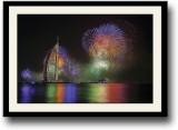 Fire Crackers Dubai Fine Art Print (10 i...