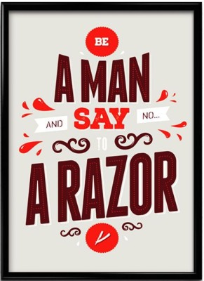 Say No To Razor Canvas Art