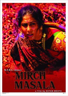 Athah Personalities Poster Mirch Masala - Ketan Mehta Paper Paper Print