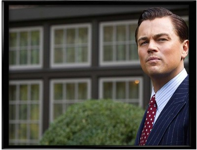 The Wolf of Wall Street,Leonardo Di Caprio Canvas Art