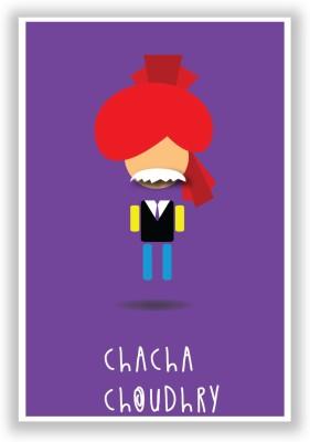 Chacha Choudhary Poster Paper Print