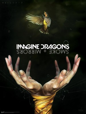 Imagine Dragons Smoke Mirrors (Officially Licensed) Paper Print