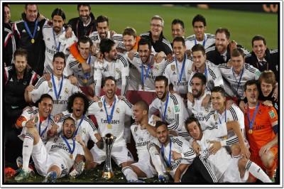 Real Madrid FC Poster Paper Print