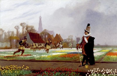 The Museum Outlet JeanLeon Gerome The Tulip Folly Google Art Project (Medium) Canvas Painting