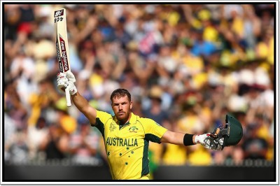 Aaron Finch Poster Paper Print