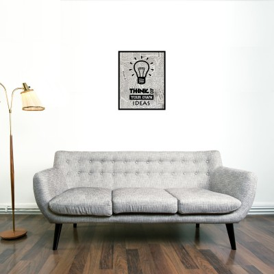 Think Of Your Own Ideas Canvas Canvas Art