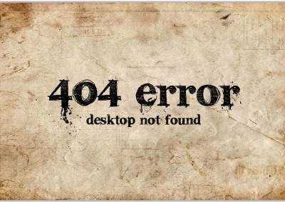 404 Error Poster (18 x 12 Inches) by Shopkeeda Paper Print