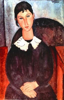 Modigliani - Elvira Fine Art Print