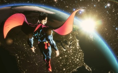 Superman: Earth One Superman HD Wall Poster Paper Print