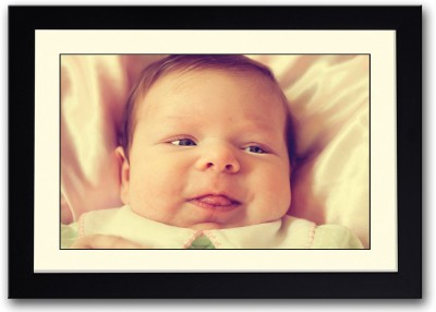Baby Sticking Tongue Out Fine Art Print