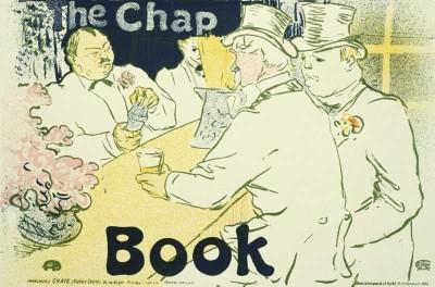The Museum Outlet - Art Postcard - The Chap Book Fine Art Print