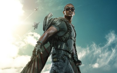 Movie Captain America: The Winter Soldier Captain America Falcon Anthony Mackie HD Wall Poster Paper Print