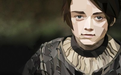 Wall Poster TV Show Game Of Thrones Arya Stark Paper Print