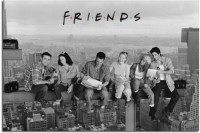 Athah Poster Ftc Friends Wall Poster Paper Print Rolled Paper Print(12 inch X 18 inch, Rolled)