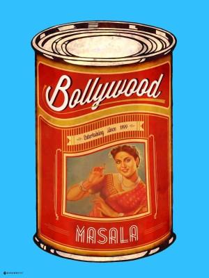 Bollywood Masala 2.0 Paper Print