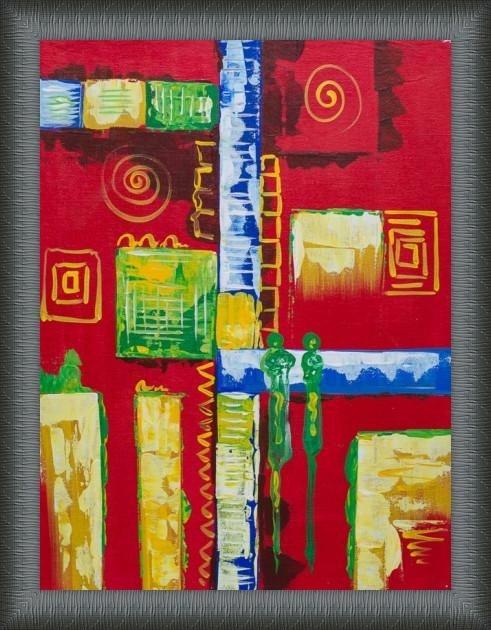Fabulous Pattern Painting - ArtsNyou Printed Paintings Canvas Art