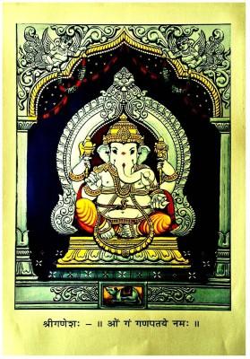 Vinayaka Or Ganesha Fine Art Print