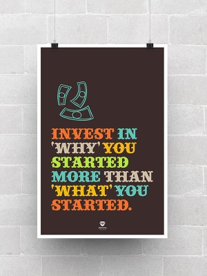 Invest In You Paper Print