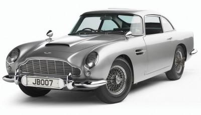 Aston Martin James Bond Paper Print
