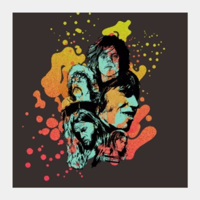 Athah Poster Pink Floyd- Any Color You Like | RJ Artworks Photographic Paper Rolled Paper Print