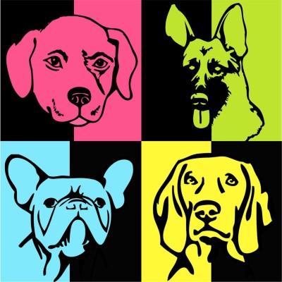 Dog Canvas Art
