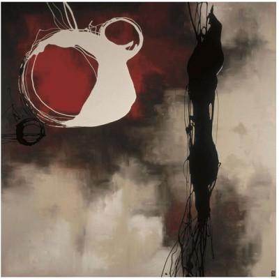 Montage - Resonance in Red Fine Art Print