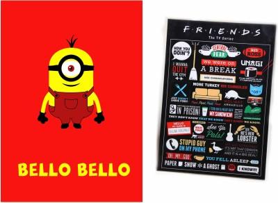 Friends TV series and Bello Bello Photographic Paper