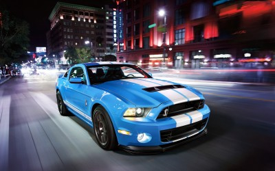 Ford Mustang GT CarA3 HD Poster Artshi2235 Photographic Paper