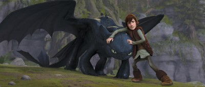 Movie How To Train Your Dragon Toothless Hiccup HD Wall Poster Paper Print