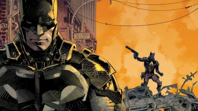 Batman: Arkham Knight Batman Frameless Fine Quality Poster Paper Print