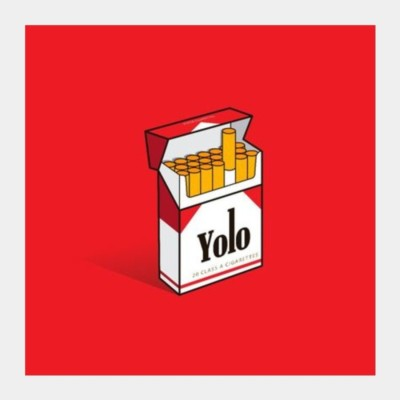 Athah Poster YOLO Square Art Prints | Artist : RJ Artworks Photographic Paper Rolled Paper Print