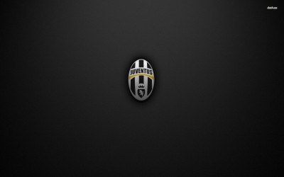 Juventus F.C. on grainy dark background Athah Fine Quality Poster Paper Print