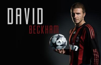Athah Poster David Beckham milan Paper Print