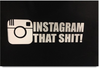 Instagram That Shit Art Work Paper Print