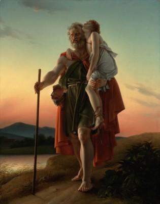 Belisarius By Baron Frana Ois Pascal Simon Ga Rard French Born Italy Fine Art Print