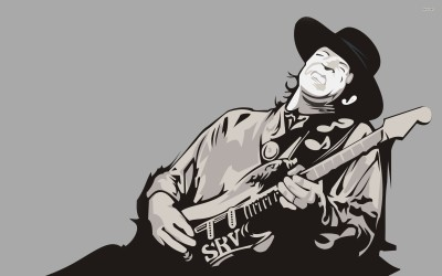 Stevie Ray Vaughan Fine Quality Poster Paper Print