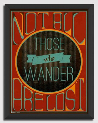 Not All Those Who Wander Canvas Art