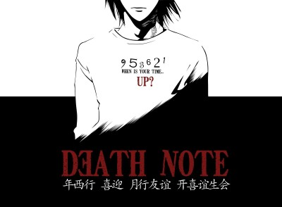 Death Note A3 HD Poster Art shi447 Photographic Paper