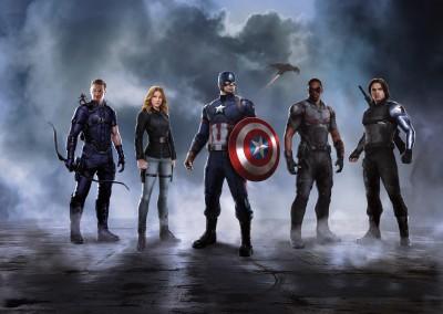Movie Captain America: Civil War Captain America Ant-Man Falcon Hawkeye Winter Soldier HD Wall Poster Paper Print