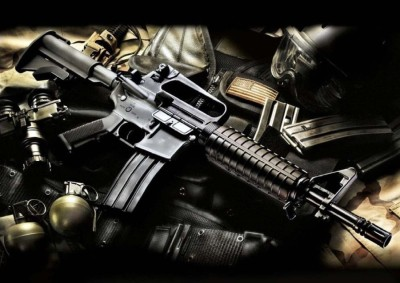 Athah Poster A2Sub Machine Gun L Paper Print Paper Print
