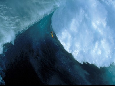 Sports Surfing Ocean Wave Scenic Photography HD Wall Poster Paper Print