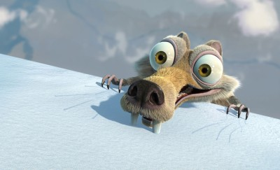 Movie Ice Age: Dawn Of The Dinosaurs Ice Age Scratch HD Wall Poster Paper Print