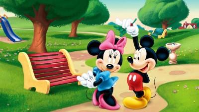 Disney Mikki Mouse Cartoon Poster Paper Print