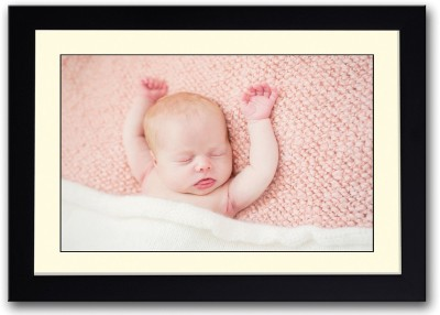 Cute Baby With Tongue Out Fine Art Print