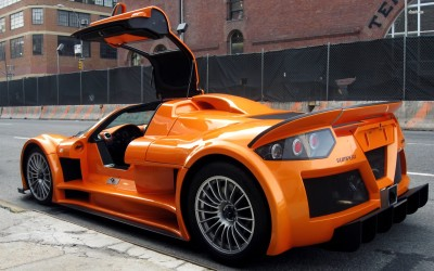 Athah Orange Gumpert Apollo with a door opened Poster Paper Print