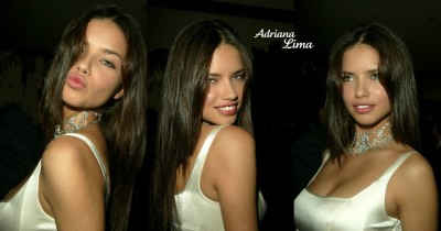 Celebrity Adriana Lima Models Brazil Beautiful Woman Model Sexy HD Wall Poster Paper Print