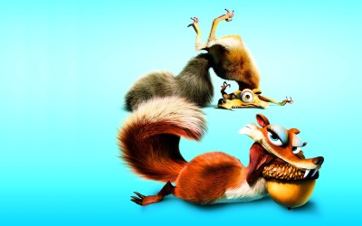 Movie Ice Age: Dawn Of The Dinosaurs Ice Age Scrat HD Wall Poster Paper Print