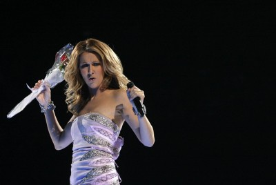 Music Celine Dion Singers Canada Wall Poster Paper Print