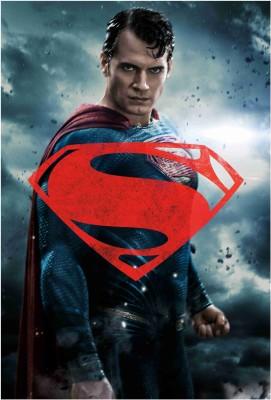 Batman vs Superman Dawn of Justice - Superman Paper Print